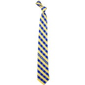 Eagles Wings MLB Milwaukee Brewers Woven Checkered Tie