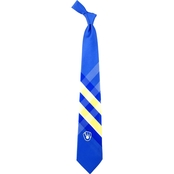 Eagles Wings MLB Milwaukee Brewers Woven Grid Tie