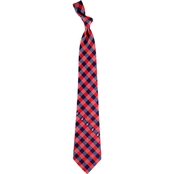 Eagles Wings MLB Cleveland Indians Woven Check Tie