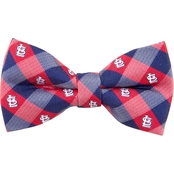 Eagles Wings MLB St. Louis Cardinals Woven Check Bow Tie