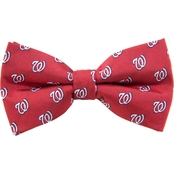Eagles Wings MLB Washington Nationals Woven Repeat Bow Tie