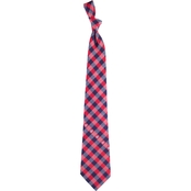 Eagles Wings MLB Washington Nationals Woven Check Tie
