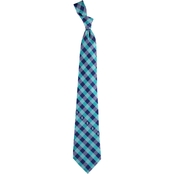 Eagles Wings MLB Seattle Mariners Woven Check Tie