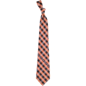 Eagles Wings MLB Miami Marlins Woven Check Tie