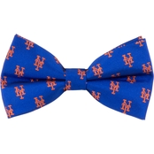 Eagles Wings MLB New York Mets Woven Repeat Bow Tie
