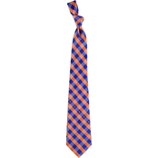Eagles Wings MLB New York Mets Woven Check Tie