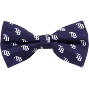Eagles Wings MLB Tampa Bay Rays Woven Repeat Bow Tie