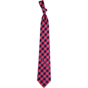 Eagles Wings MLB Boston Red Sox Woven Check Tie