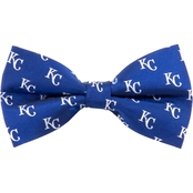Eagles Wings MLB Kansas City Royals Woven Repeat Bow Tie