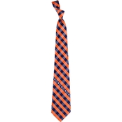 Eagles Wings MLB Detroit Tigers Woven Check Tie