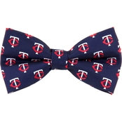Eagles Wings MLB Minnesota Twins Woven Repeat Bow Tie