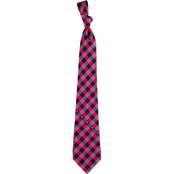 Eagles Wings MLB Minnesota Twins Woven Check Tie