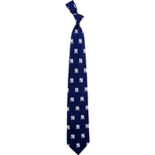 Eagles Wings MLB New York Yankees Prep Print Silk Tie
