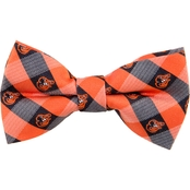 Eagles Wings MLB Baltimore Orioles Woven Check Bow Tie