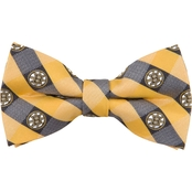 Eagles Wings NHL Boston Bruins Checked Bow Tie