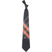 Eagles Wings NHL Philadelphia Flyers Woven Grid Tie