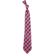Eagles Wings NHL Columbus Blue Jackets Woven Checked Tie