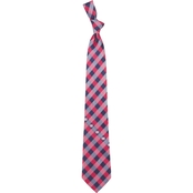 Eagles Wings NHL Montreal Canadiens Woven Checked Tie