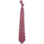 Eagles Wings NHL Carolina Hurricanes Woven Checked Tie