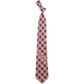 Eagles Wings NHL Edmonton Oilers Woven Checked Tie