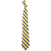Eagles Wings NHL Buffalo Sabres Woven Checked Tie