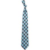 Eagles Wings NHL San Jose Sharks Woven Checked Tie
