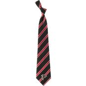 Eagles Wings NFL Atlanta Falcons Striped Necktie