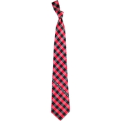 Eagles Wings NFL Atlanta Falcons Checked Necktie