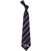 Eagles Wings NFL Baltimore Ravens Striped Necktie