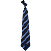 Eagles Wings NFL Carolina Panthers Striped Necktie