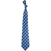 Eagles Wings NFL Carolina Panthers Checked Necktie