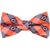 Eagles Wings NFL Chicago Bears Checked Bow Tie