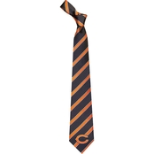 Eagles Wings NFL Chicago Bears Striped Necktie