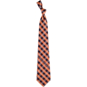 Eagles Wings NFL Chicago Bears Checked Necktie