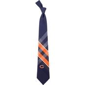 Eagles Wings NFL Chicago Bears Grid Necktie