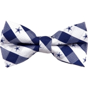 Eagles Wings NFL Dallas Cowboys Checked Bow Tie