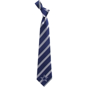 Eagles Wings NFL Dallas Cowboys Striped Necktie