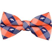 Eagles Wings NFL Denver Broncos Checked Bow Tie