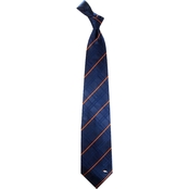 Eagles Wings NFL Denver Broncos Oxford Woven Silk Necktie