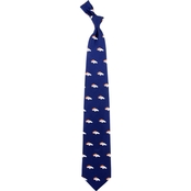 Eagles Wings NFL Denver Broncos Logo Silk Necktie