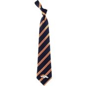 Eagles Wings NFL Denver Broncos Striped Necktie