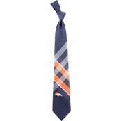 Eagles Wings NFL Denver Broncos Grid Necktie