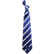 Eagles Wings NFL Indianapolis Colts Striped Necktie