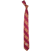 Eagles Wings NFL Washington Redskins Skinny Plaid Necktie