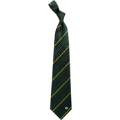 Eagles Wings NFL Green Bay Packers Oxford Woven Silk Necktie