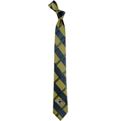 Eagles Wings NFL Green Bay Packers Skinny Plaid Necktie