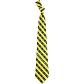 Eagles Wings NFL Green Bay Packers Checked Necktie