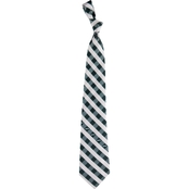 Eagles Wings NFL New York Jets Checked Necktie