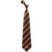Eagles Wings NFL Cleveland Browns Striped Necktie