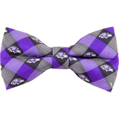 Eagles Wings NFL Baltimore Ravens Checked Bow Tie